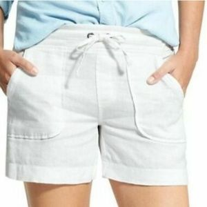 [Athleta] 100% Linen Shorts  2